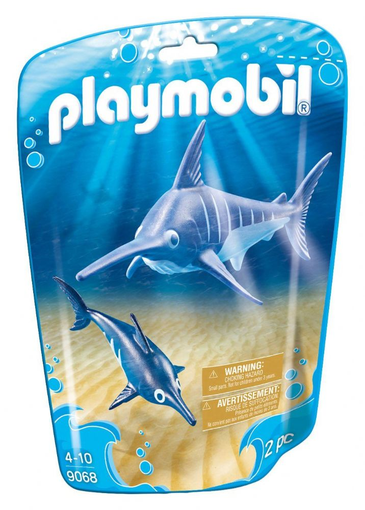 Playmobil 9068 Family Fun Swordfish with Baby